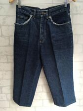 BROOKER Size 10 Women's Cropped 3/4 Length Jeans Vintage? <L3784
