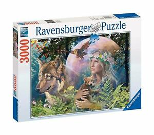 Ravensburger 3000pc Jigsaw Puzzle - Lady of the Forest - 170333