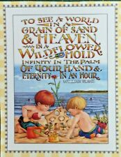 New ListingMary Engelbreit Handmade Magnet-To See A World In A Grain Of Sand