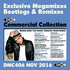 DMC Commercial Collection 406 Club Hits Mixes & Two Trackers DJ Double Music CD