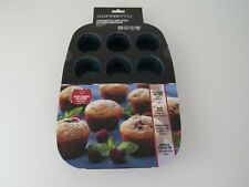 New SOFFRITTO commercial Non stick Silicone Muffin Pan, 12 cup, bpa free
