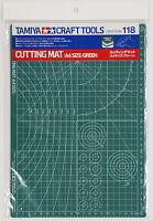 Tamiya 74118 Craft Tools - Cutting Mat  A4 Size / Green