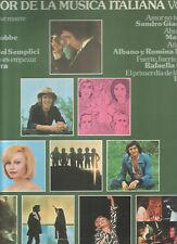 SANDRO GIACOBBE GIANI BELLA  MARCELLA AL BANO & ROMINA LP Spain 1977 Lo Mejor