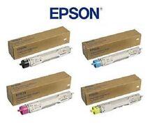 4 Original Toner EPSON Aculaser C4000 / C13S050088 C13S050089 C13S050090