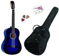Pack Guitare Classique 1/2 Pour Enfant (6-9ans) Avec 3 Accessoires (Bleu)