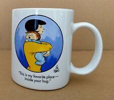 Vintage Family Circus Coffee/Tea Cup/Mug Son Giving Mom A Hug