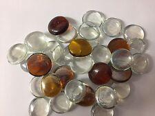 Mixed Brown & Clear Vetro Decorativo Sassolino Perline-Acquari Floreale 6368