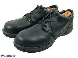 🔥 Worx • Red Wing 5023 Safety Toe Shoes Static Dissipative Black • Men's Sz 10