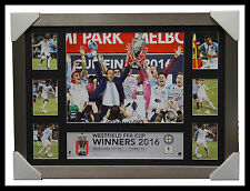 Melbourne City 2016 FFA Cup A-League Champions Deluxe Tribute Silver Frame