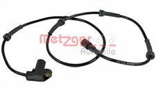 Sensor, Raddrehzahl für Bremsanlage Hinterachse METZGER 0900089