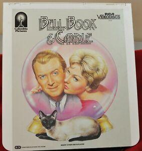 RCA VideoDisc CED - Bell, Book & Candle, James Stewart - Phoenix, c.1958