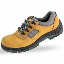Chaussures De Securite Et Travail Taille Basse Marron Cuir Nubuck Normes En 203