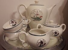 ancien service a the cafe st amand ceranord moulin tasse sucrier theiere pot
