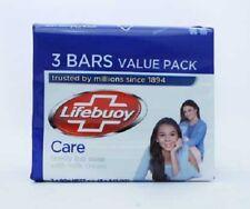 Lifebuoy Soap Care Family Bar Soap  3 x 90g  - Rarely Available Soap