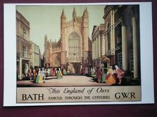 POSTCARD GWR BATH THIS ENGLAND OF OURS