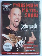 Maximum Metal Show DVD Januar 2012  _ Nightwish_ Behemoth_ Paradise Lost_ Pain