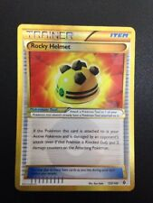 Pokemon Card - Secret Rare Rocky Helmet 153/149 Boundaries Crossed NM