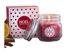 Avon Noel Christmas Jar Candle - warming and spicy