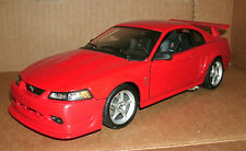 1/18 Scale 2000 Ford SVT Mustang Cobra R Diecast Model Car - Red V8 Maisto 31872