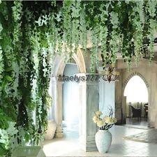guirlande hortensia glycine fleur artificiel décoration mariage maison 100cm