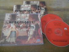 CD Klassik Harnoncourt - Strauss : Fledermaus 2CD/1987 (.. Song) TELDEC jc/box