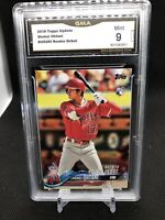 2018 Topps Update Shohei Ohtani RC #US285 GMA  Mint 9 Rookie Debut