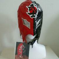 NJPW New Japan Pro Wrestling BUSHI Game Used Mask w/ Autograph Rare F/S