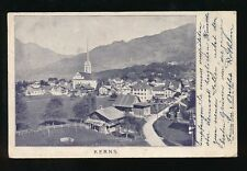 Switzerland KERNS General view Used 1902 U/b PPC