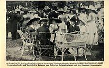 Promenadenkonzert und Gartenfest in Potsdam für Nationalflugspende 1912