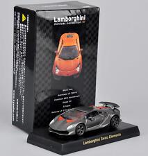 1/64 Grey Lamborghini Sesto Elemento Minicar Hobbies Alloy Car Kyosho Model Toy