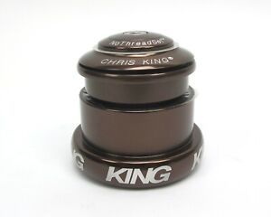 Chris King Inset 3 Headset Brown ZS44 / EC49 Tapered