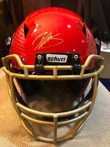 Patrick Willis San Francisco 49ers Autographed Schutt Custom Hydro F/S Helmet
