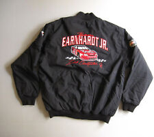 Dale Earnhardt Jr NASCAR Bud Racing Chase Jacket Coat Black L Large