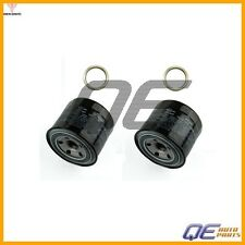 Set of 2 Genuine Oil Filters 15208AA031 & 2 Crush Washer For Subaru 6 Cyl