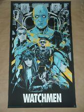 Watchmen Ken Taylor Variant movie poster art print Mondo Mondotees Rorschach