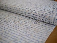 Robert Kaufman patchwork tessuto, City of Lights, scrittura a mano, font, VINTAGE
