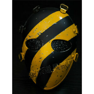 Tom clancy's The Division 2 Agent Mask Yellow Half  Face Mask Cosplay Prop Cool