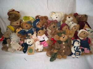 "27 Collectable Boyds Bears Music Box 5"" to 12"" Instant Collection"