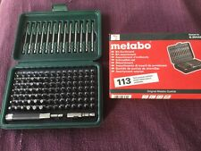 Metabo 113 Bit Assortment