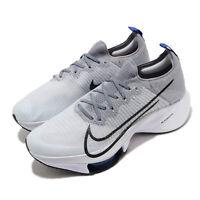Nike Air Zoom Tempo Next% FK Flyknit Grey Black White Men Running CI9923-002