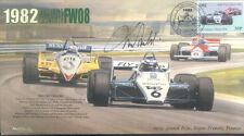 1982b WILLIAMS-COSWORTH 08 DIJON-PRENOIS F1 Cover signed MAURO BALDI