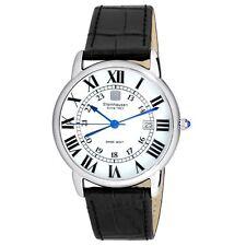Steinhausen Men's S0718 Classic Delémont Swiss Quartz Stainless Steel Watch With