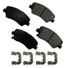 Disc Brake Pad Set-L Front Akebono ACT1543A