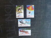 2014 VANUATU EXTREME OUTDOORS SET 4 MINT STAMPS MNH