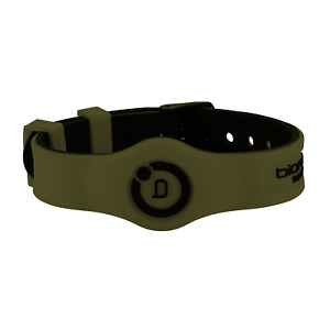 Bioflow Sport Flex Magnetic Therapy Wristband Khaki/Black - From Bioflow Direct