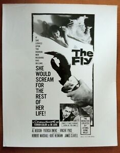 POSTER ART PRESS PHOTO THE FLY Vincent Price