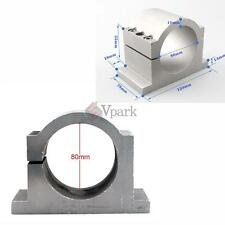 80MM DIAMETER MOUNT BRACKET CLAMP FOR SPINDLE MOTOR CNC ENGRAVING MACHINE USA