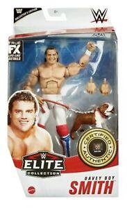WWE Mattel British Bulldog Davey Boy Smith Elite Series #82 Figure