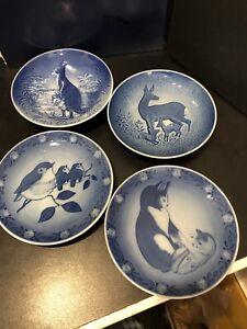 Royal Copenhagen Mors Dag Mothers Day Plates-1982-83-1975 & 2002