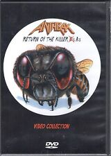 Anthrax - Return of the Killer A's Video Anthology (DVD, 1999) - NEW, SEALED!!
